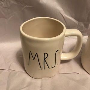 Rae Dunn BRIDE & MRS Mugs